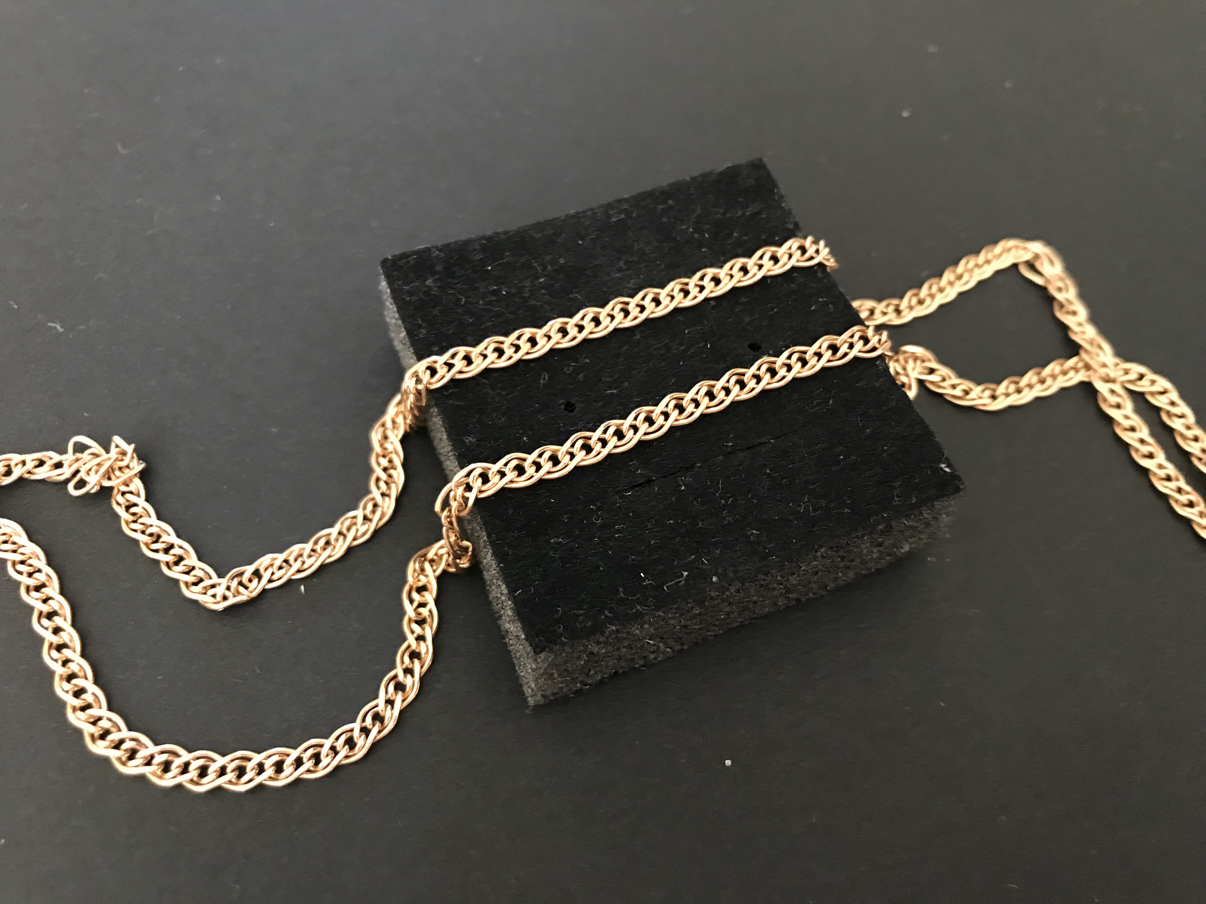 14ct Rose Gold Chain 4.44g – 585 Gold UK